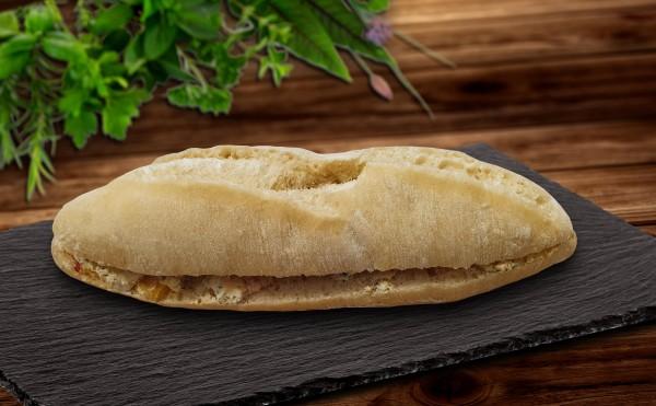 Weizenbaguette mit Grillgemüse