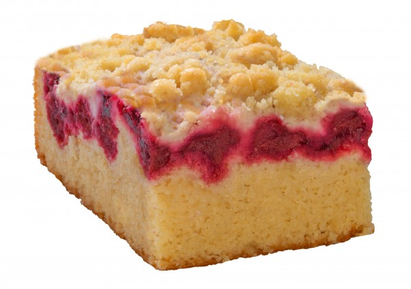 Kirsch-Streusel-Kuchen (2 Stücke)