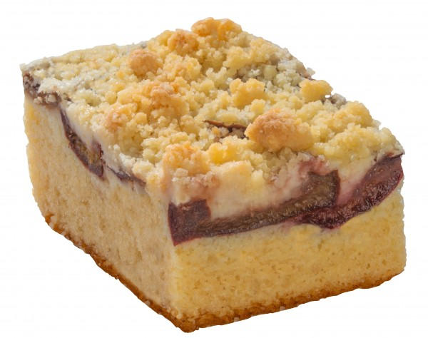 Pflaumen-Streusel-Kuchen (2 Stücke)
