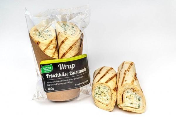 Wrap_SandwichMan_Bärlauch_Frischkäse_Vegetarisch
