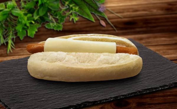 Ofen Hot Dog mit Käse